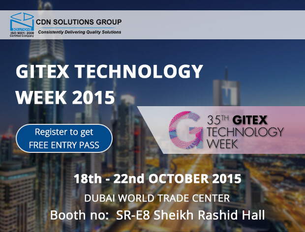 CDN Solutions Group Participates in Gitex 2015